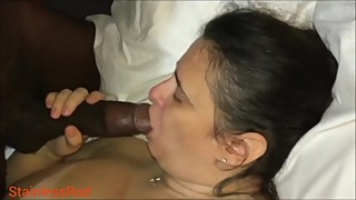 Homemade porn bbw wife big black cock carnations in front of a man.