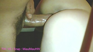 Young hotwife miau miau big cock, wife