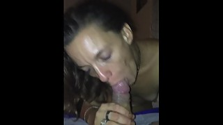 My wife sucking my dick made once or twice