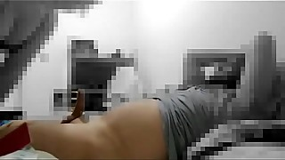 Hotwife burning espancando or pau do corninho