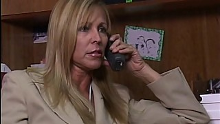The bill in front of a black guy fuck mature secretary