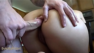 Silence anal sex for the parents in the other room! (quiet!! )