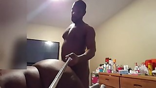 The wife of a best friend to come back with each other 3some pt 1 (selfie stick)