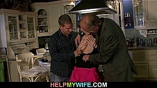 Man039_s old is fucking his young wife
