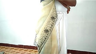 De village village wife changing saree husband039_s friends recording whore with her cuckold