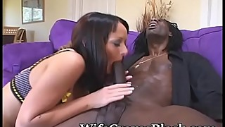 Stacked wife sex with black big dick well
