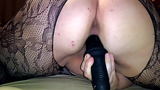Next whore woman: body sexy net lingerie of the offender, x - large dildo