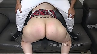 Big ass 49y gilf incredible skills twerk