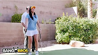Bangbros-rachel starr, how are you with your the game of golf teacher, while her cuck husband is reading the newspaper