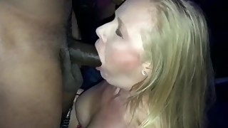 The choice of the husband to suck * * a big black cockâ™ *