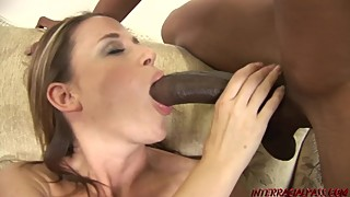 Wife kylie worthy gets a big black cock dream a reality and to shoot in any case