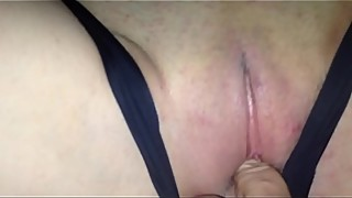 To save cuckold creampie wife after the date of the panties