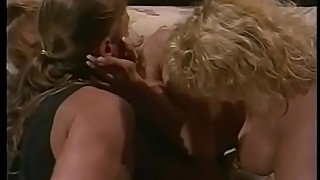 Angry wife lynden johnson went to his wife, kissing the blonde with big tits stephanie duvall, and he made that bitch look at them to have sex