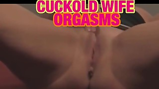 Real cuckold wife orgasm! - hot κερατάσ husband video