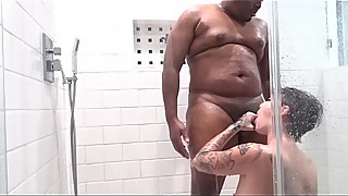 Sex and facial in the shower onlyfans.com/kingsplayhouse)