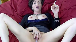 Lick it up, when i smoke - whistle for the hotwife creampie to clean up cigarette fetish