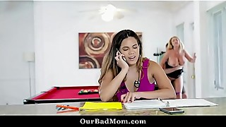 Horny milf teacher fucks her work colleague