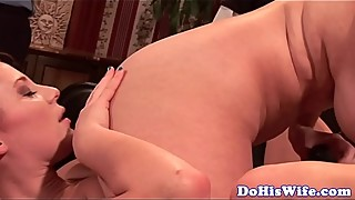 Busty housewife toy lesbian sex