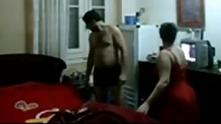 Egyptian bbw arab cheating wife with her husband friend