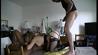 He said that he and his wife indalina fucked by 2 men