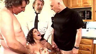 Sweet tits swinger threesome brunette swinger wife