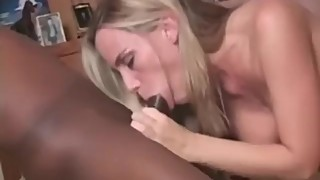 Mother-in-law looking for a husband a big black cock and swallows