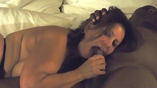 Hot wife mature wife with a big black cock