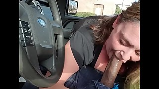 (pov) big dick unfaithful wife slobbing on black and takes over command in the light of day