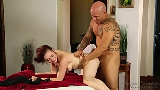 His wife a surprise massage