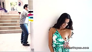 Hot latin wife husband cuckold