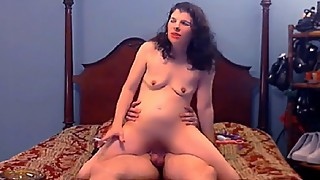 Husband catches smoking woman slut fucked by big black dildo cock, she loves it 2. part