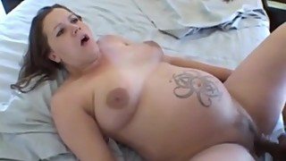 Big, black hard cock fucking her pregnant wife amateur grand полненькой