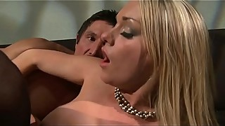 Pissed off wife fucks her boyfriend and when her husband