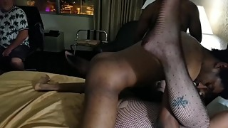 Fri my hotwife fetish and hard in front of him did!