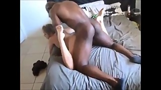 Cheating wife loves big black dick