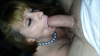 Hot woman can be stopped to suck in a large (raw-uncut-2)