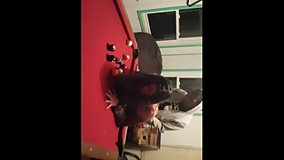 Wife need a big black penis on a pool table